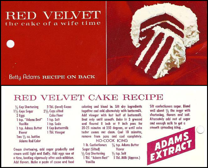Red Velvet Cake Yesterdish Com
