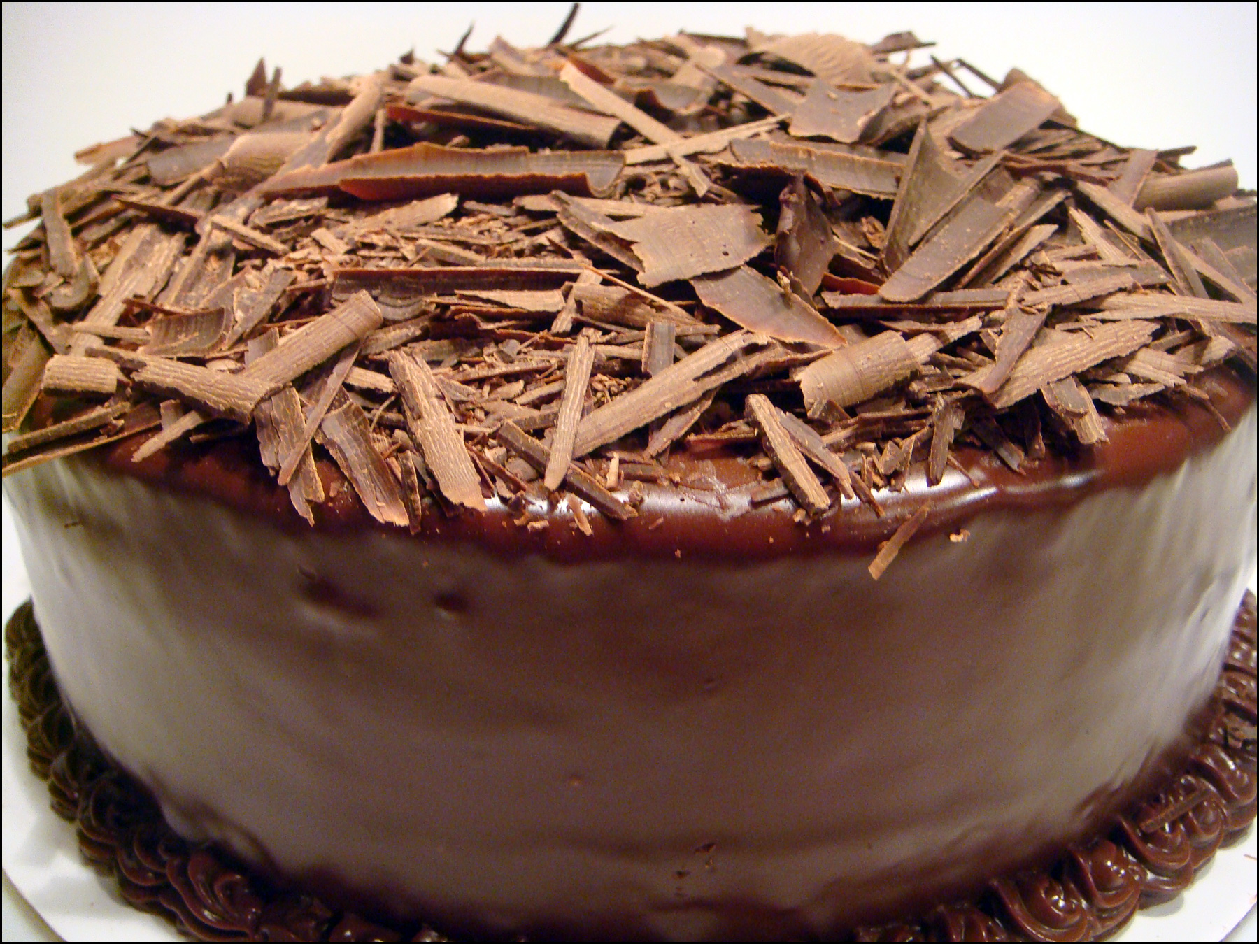 Devil's Food Cake | yesterdish.com