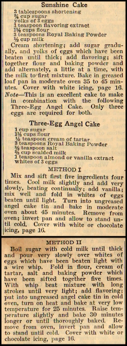 Three Egg Cake