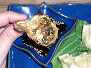 vegetable-potstickers-held