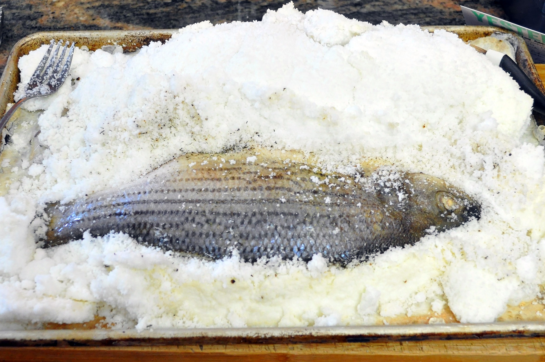 Yesterdish s salt crusted fish for Salted cod fish near me